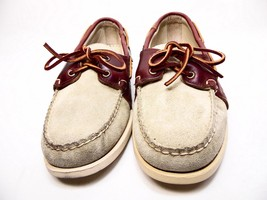 Sebago Mens  Mohican Sand Suede Casual Boat Shoes B10136 Size 8.5M - $53.20
