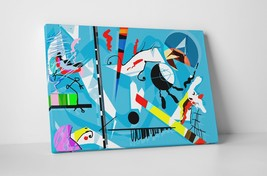 "Kandinsky Miro Vackiero Gallery Wrapped Canvas Wall Art 30""x20"" - $53.41"