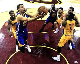 Stephen Curry Autographed Golden State Warriors 16x20 Photo BECKETT Auth... - £188.34 GBP