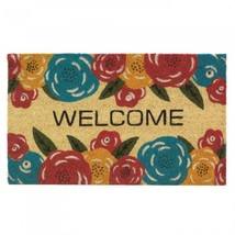 Floral Welcome Mat - $26.75