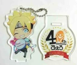 Naruto Acrylic Stand Keychain Figure Boruto Pierrot 40th Masashi Kishimo... - $35.63
