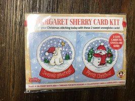 Cross Stitch Crazy Margaret Sherry Card  stitch kit - $5.10
