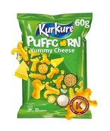 Kurkure Puffcorn, Yummy Cheese, 60g+2 - $16.82