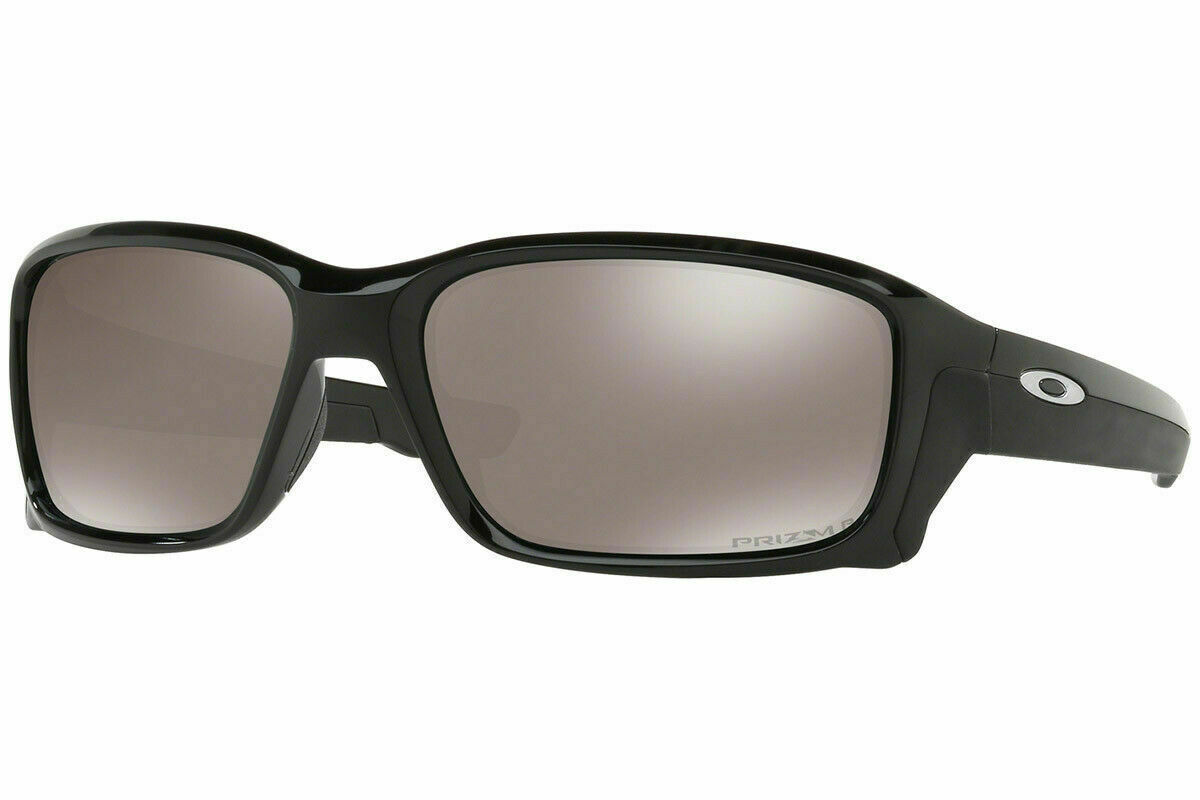 Oakley Straightlink POLARIZED Sunglasses OO9331-16 Polished Black W/ PRIZM Black