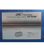 JVC 2 Ccd Color Video Cámara Ky F55B Instrucciones Manual Dq - $24.38