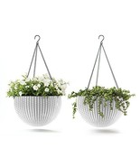 Keter 237998 Hanging Planter Set, White, Oasis White - $52.35