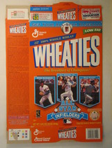 Empty WHEATIES Box 1997 18oz ALL STAR INFIELDERS Sandberg Ripken Piazza ... - $6.38