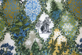 COTTON FABRIC - WINTER GRAPHICS FROM IN THE BEGINNING FABRICS - $7.91