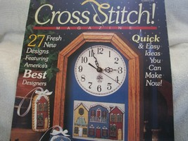 Cross Stitch Magazine No. 1 1990 - $5.00