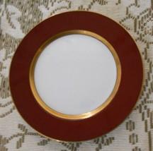 "Fitz & Floyd Renaissance Cinnabar Cinnamon Gold Salad Plate 7 1/2"" - $12.53"