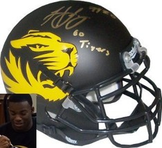Henry Josey signed Missouri Tigers Authentic Schutt Alternate Mini Helme... - $42.95