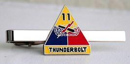 US Army 11th Armored Division Thunderbolt Tie Clip  - $12.99