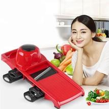 Adjustable Slicer Mandoline Steel Food Cutter Stainless Vegetable Kitche... - $22.34