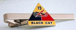 US Army 13th Armored Division Black Cat Tie Clip  - $12.99