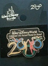 Walt Disney World 2000 Pin Brooch Celebrate The Future New Jewelry Colle... - $12.86