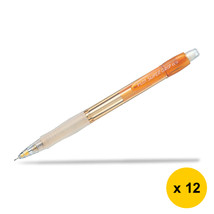Pilot Super Grip Neon H-185N 0.5mm Mechanical Pencil (12pcs), Orange, H-... - $28.99