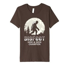 Bigfoot Clothing - Bigfoot Hide and Seek Champion  Premium T-Shirt Youth - $21.99+