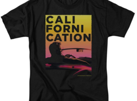 Californication comedy-drama TV series David Duchovny black graphic tee SHO497 image 3