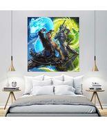 Wall Poster Art Giant Picture Print Genji Hanzo Overwatch Game 2368PB - $17.99