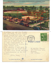 1946 Vintage Picture Postcard Baseball Training Quarters Florida Eddie H... - $79.99