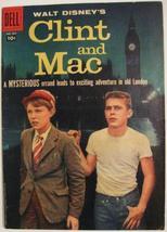 Four Color Comics# 889 Mar 1958 Walt Disney's Clint And Mac, Toth Art: 7.5 VF- - $55.00