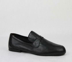 Gucci Black Men's Leather Loafer Gg Logo Size7 368468 Shoes - $440.00