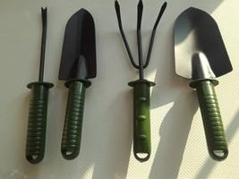 4pcs Gardening tool set combination flower planting shovel garden plasti... - $15.99