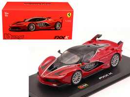 Ferrari FXX-K #88 Red Signature Series 1/43 Diecast Model Car by Bburago - $36.56
