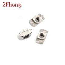 ZFhong 100PCS 20TN M3 M4 M5 M6 T Hammer Head Fasten Nut Connector Nickel... - $13.95