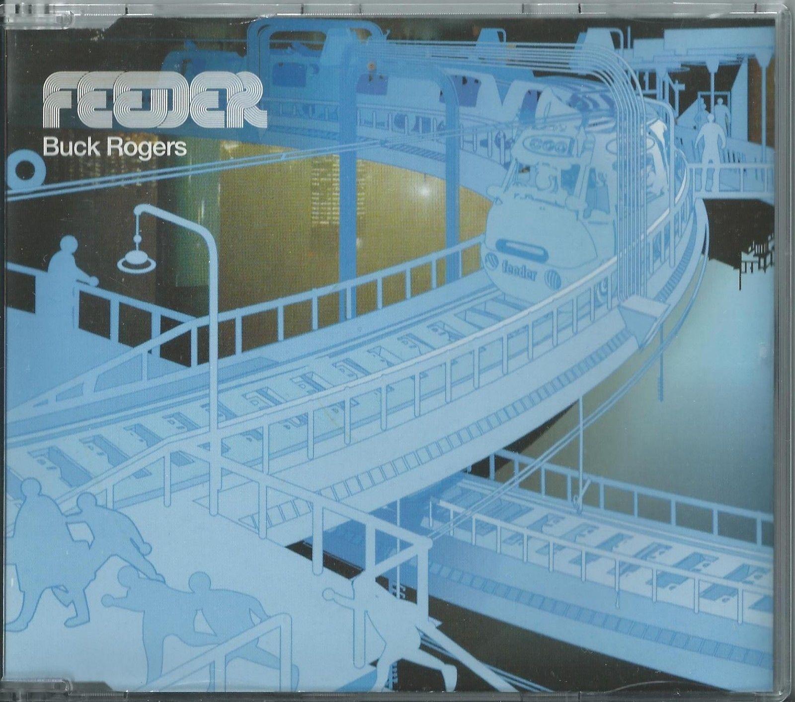FEEDER - BUCK ROGERS 2001 UK 3 ENHANCED TRACK CD SINGLE PART 2 ECHO-ECSCX106