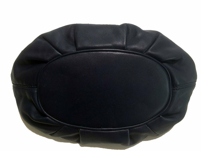 Michael Kors Leather Tassel Hobo / Shoulder Bag Blue