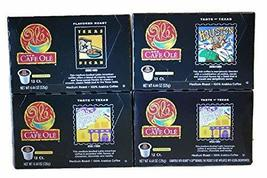 Cafe Ole Taste of Texas Variety Pack Single Serve Coffee Cups 12 Counts (San Ant - $43.49