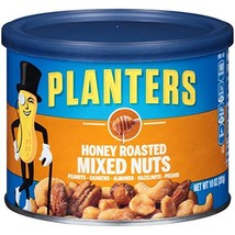 Planters Honey Roasted Mixed Nuts 10 oz Canisters, Pack of 4 - $17.94