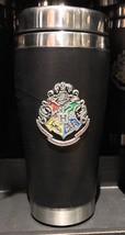 Universal Studios Wizarding World Harry Potter Hogwarts Crest Travel Cup... - $38.78