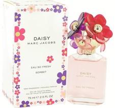 Marc Jacobs Daisy Eau So Fesh Sorbet Perfume 2.5 Oz Eau De Toilette Spray image 4