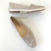 Paul Green Womens Sz 9.5/10 Tan Nubuck Espadrilles Loafers Shoes MINT   - $64.30