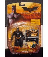 2005 DC Batman Begins Battle Gear Batman Figure New In The Package - $29.99