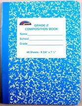 Grade Two Composition Book 48 Sheet 72 pcs sku# 1455130MA - $100.84