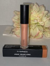 MAC Lipglass ~ 349 LOVE NECTAR ~ Gloss Color Rare Authentic NIB Fast/Fre... - $19.75