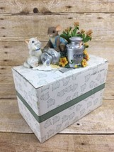 """Charming Tails """"You're the Cream of the Crop""""  85/524 Box Fitz Floyd Mou... - $27.07"""