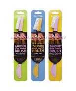 Ebin 2 in 1 Brush & Comb Double Sided 24 Hour Edge Tamer Bristle brush 1... - $5.96