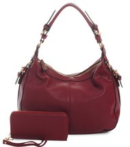 Emperia Outfitters Chloe, Concealed Gun Carry Lock & Key Hobo + Wallet- ... - $75.23
