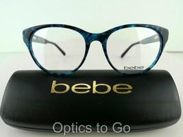 BEBE BB 5138 Vicarious (440) Teal 53-17-135  Eyeglass Frames - $28.50