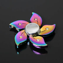 Rainbow Bauhinia Flower Fidget Toy - One Item w/Random Color and Design image 2