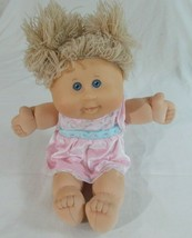 Signed Cabbage Patch Kids 2004 Play Along PA-15 Blonde Hair Blue Eyes Doll - $14.62