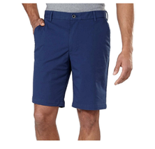 IZOD Flat Front, Performance Shorts with Smartphone Pocket, Club Blue, 3... - $19.79