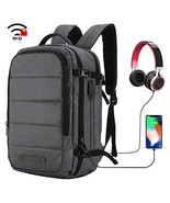 MIER Travel Laptop Backpack Anti-theft Backpack with USB (Style1 - Dark ... - $60.98