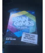 New/Sealed National Geographic Channel BRAIN GAMES The Game for Adults' - $15.74