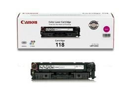 Canon 118 (2660B001AA) Magenta Laser Toner Cartridge For imageCLASS MF8580Cdw - $138.55