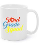 Third Grade Squad Coffee Mug Funny Teacher Back to School Coffee Mug - €14,96 EUR